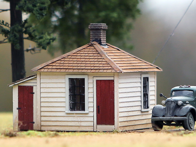 Town Scale House - kit