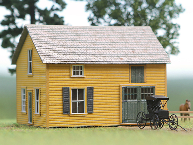 Francis Diamond Carriage House - kit