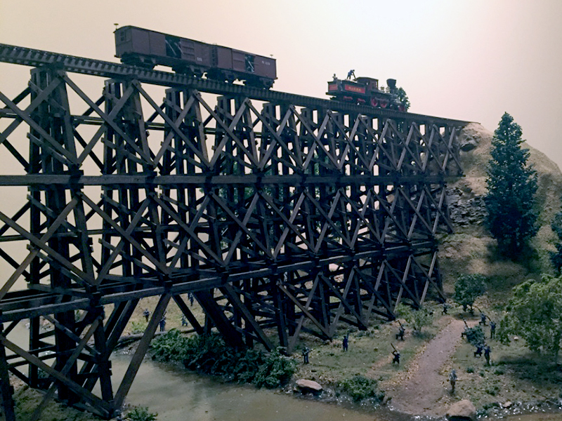 railroad trestle from anderson county south carolina
